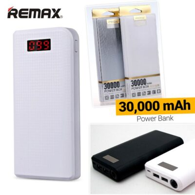 REMAX PRODA 30,000mAh Power Bank with Dual USB Output