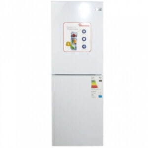 Ramtons RF288 Fridge Silver 196 LITERS COMBI FRIDGE