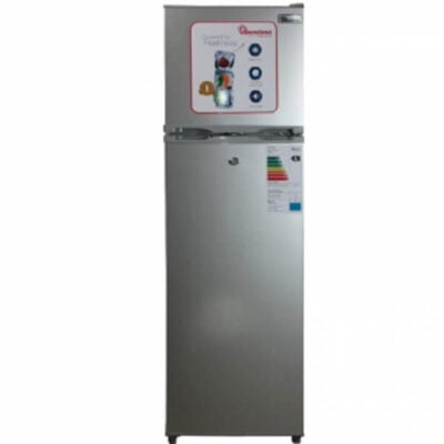 Ramtons 168 Liters 2 Door Direct Cool Fridge Silver- RF/263