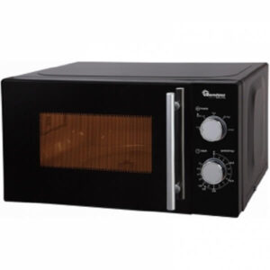 Ramtons Black, Manual Microwave, 20 Liters- RM/459