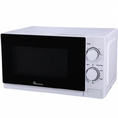 Ramtons White, Manual Microwave, 20 Liters- RM/339