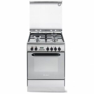 3 gas 1 electric stainless steel elba cooker eb 214 compressor call 0711477775 or 0711114001