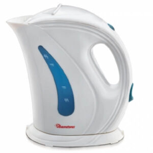 white and blue electric cordless kettle 1 7 litres capacity rm 225 call 0711477775 or 0711114001
