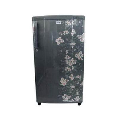 Bruhm Fridge BRS 223- 7Cu.Ft - 198 Litres - Grey Floral Design, Single Door Refrigerator