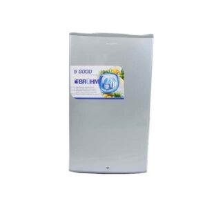 Bruhm Fridge BRS 95x 95 Litres Silver - Single Door Refrigerator - 4Cu.Ft in Kenya