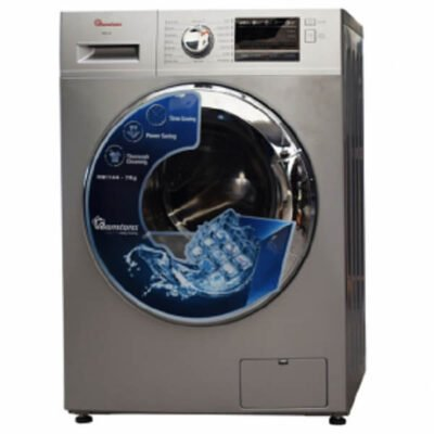 RAMTONS FRONT LOAD FULLY AUTOMATIC 7KG WASHER 1400 RPM, SILVER- RW/144