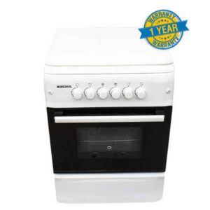 Cooker Bruhm BGC 6640NW - Free Standing Gas Cooker - 60cm x 60cm - White