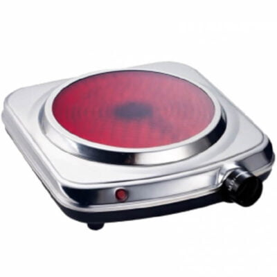 silver single hot plate cooker rm 355 call 0711477775 or 0711114001
