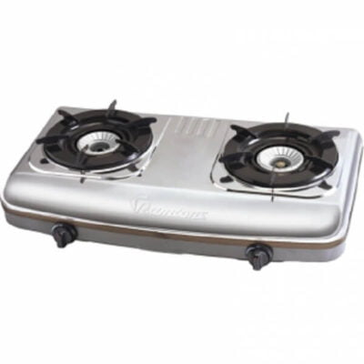 stainless steel 2 burner gas cooker rg 502 call 0711477775 or 0711114001