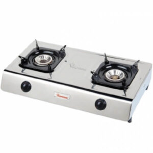 stainless steel 2 burner gas cooker rg 518 call 0711477775 or 0711114001