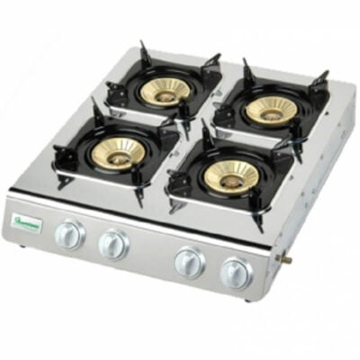stainless steel 4 burner gas cooker rg 526 call 0711477775 or 0711114001