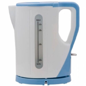 white and blue electric cordless kettle 1 7 litres capacity rm 325 call 0711477775 or 0711114001