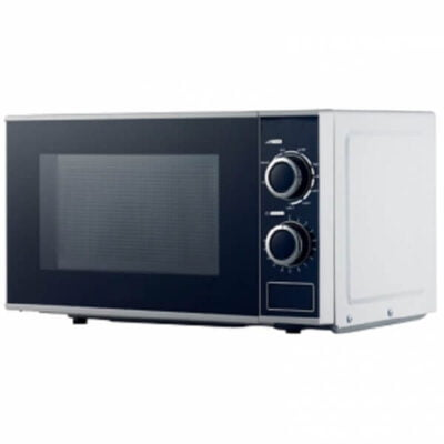 RAMTONS WHITE, MANUAL MICROWAVE, 20 LITERS- RM/396