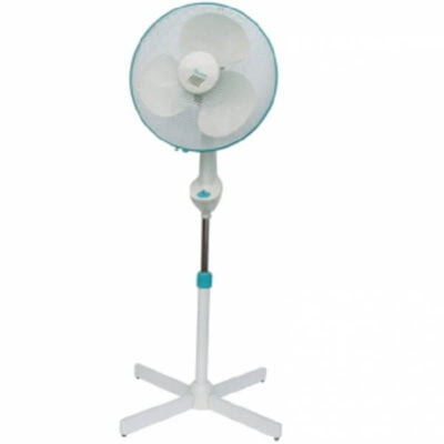 white stand fan 3 speed rm 144 call 0711477775 or 0711114001