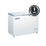 Fridge Bruhm BCF-268SD Chest Freezer 7.5Cu.Ft 200 Litres Grey