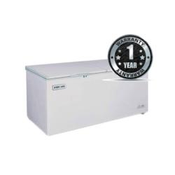 Fridge Bruhm BCF-650DD Chest Freezer 20Cu.Ft 550 Litres Silver & Grey