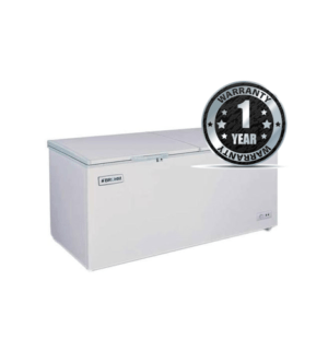 Fridge Bruhm BCF-650DD Chest Freezer 20Cu.Ft 550 Litres Silver & Grey