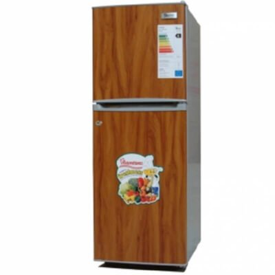 7 5cu ft 2 door direct cool fridge wood finish rf 253 call 0711477775 or 0711114001