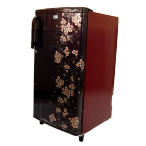 Fridge Bruhm BRS 203P - Single Door Refrigerator - 6Cu.Ft - 170 Litres - Floral