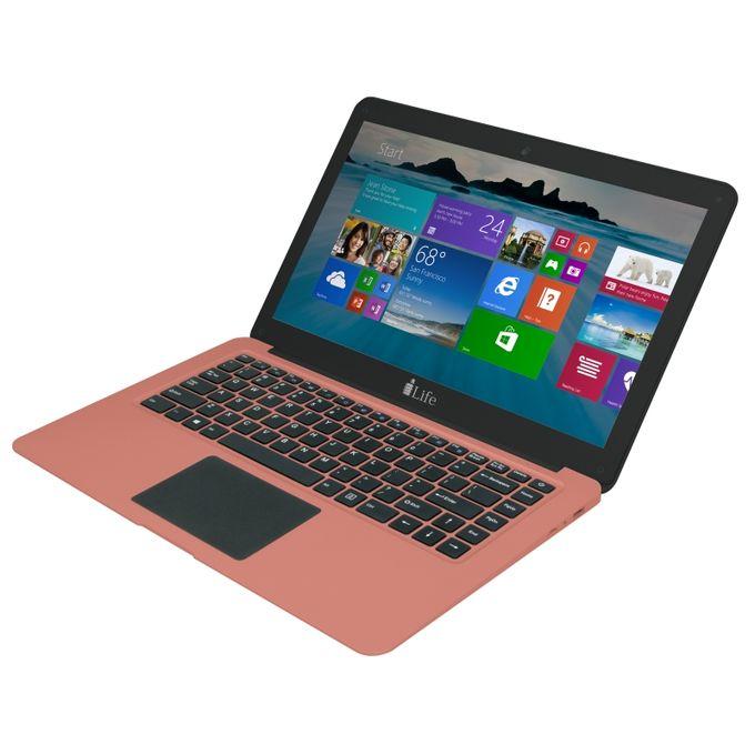 ilife zed air mini 10 6 notebook 2gb ram 32gb ssd windows 10 pink patabay. Black Bedroom Furniture Sets. Home Design Ideas