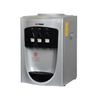 Hotpoint HWDC1100S/1000S Table Top Water Dispenser - Room Temp - Silver