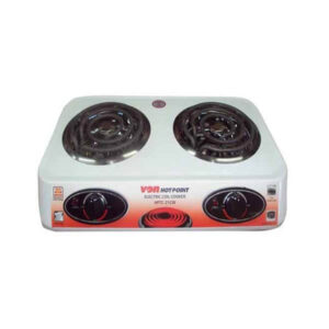Hotpoint HPTC-21CW Table Top Double Coil Cooker - Call 0711477775