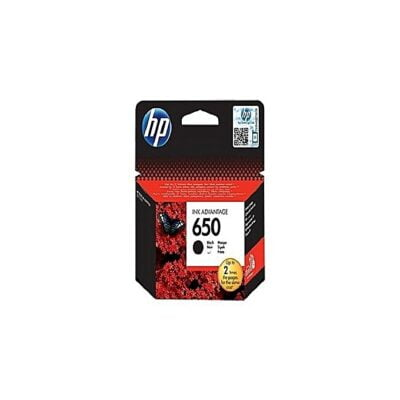 HP 650 BLACK CARTRIDGE BLACK