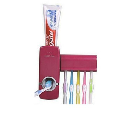 Toothpaste Dispenser - Maroon