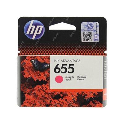 HP 655 Magenta Cartridge