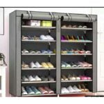Grey SHOE CABIN Shoe Rack