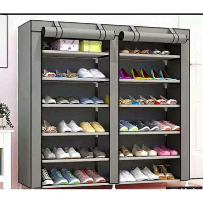 Grey SHOE CABIN Shoe Rack