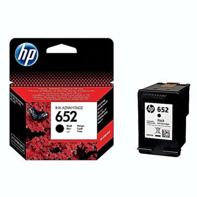 HP 652 Black Cartridge Ink drop~13.5 pl