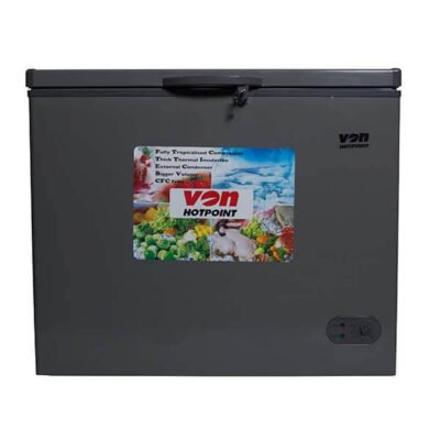VON hotpoint HCFM395WS Showcase Freezer 316L, LED