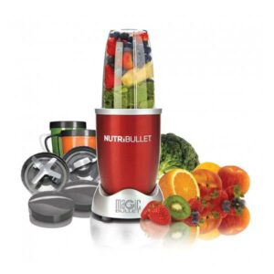 Hotpoint NutriBullet NBR - 1212R Red 12 Piece Set