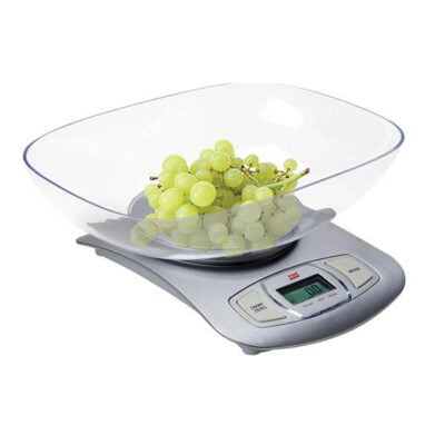 VON hotpoint HESK01CS Kitchen Scale, 5KG, Electronic
