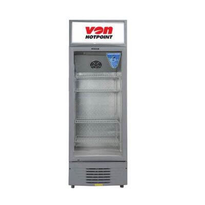 Von Hotpoint HPBC158W Vertical Cooler, 150L Showcase chiller and display fridge