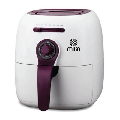 Mika Air Fryer, 2.2 Ltrs, White & Purple MAF1000