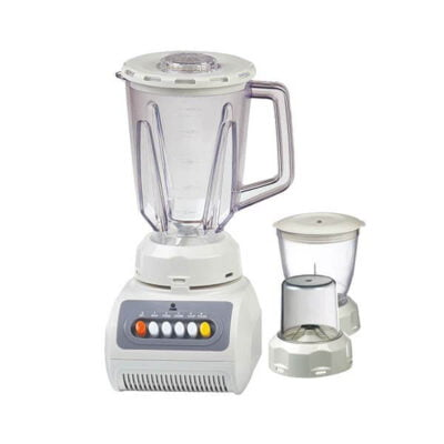 Mika Blender, 1.5L, 450W, With Chopper & Grinder, Off White MBLR2999WH(KB)