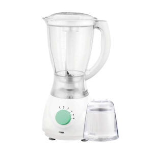 Mika Blender, 1.7L, 550W, With Grinder, White & Green MBLR4314/WH
