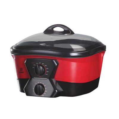 Mika Genie Cooker, 12 in 1, 5L MGC1200(Red, Pink Black)