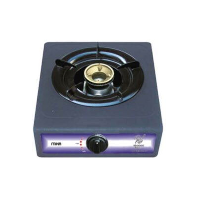 Mika Gas Stove, Table Top, Non Stick, 1 Burner, Grey MGS1155