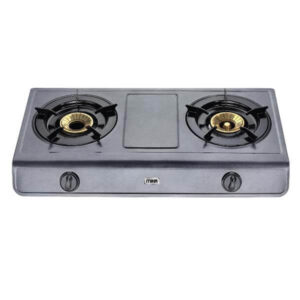 Mika Gas Stove, Table Top, Non Stick, 2 Burner MGS1401(MNSD1400SC)