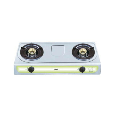 Mika Gas Stove, Table Top, Stainless steel, 2 Burner MGS2000(MSSD2000)