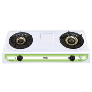 Mika Gas Stove, Table Top, Stainless steel, 2 Burner MGS2200(MSSD2200)