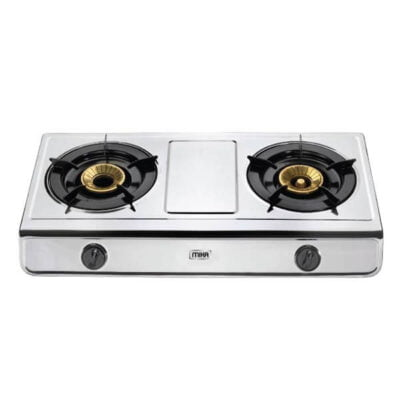 Mika Gas Stove, Table Top, Stainless steel, 2 Burner MGS2402(MSSD2500BB)