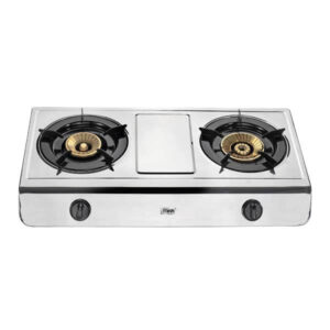 Mika Gas Stove, Table Top, Stainless steel, 2 Burner MGS2502