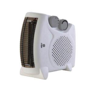 Mika Fan Heater, 1000-2000W, White MH102