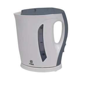 Mika Kettle (Electric), Plastic, 1.7L, Cordless, White & Grey MKT1102