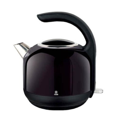 Mika Kettle (Electric), Stainless Steel, 1.7L, Cordless, Black MKT2401
