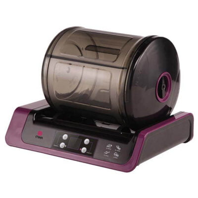 Mika 2 in 1 Vacuum Marinator, Purple & Black